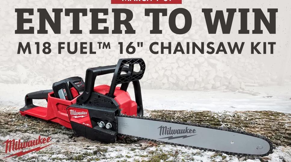 Milwaukee chainsaw